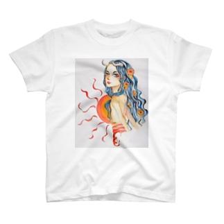 the sun T-shirts