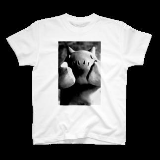 長場鬼瓦工場のGaguu! T-shirts