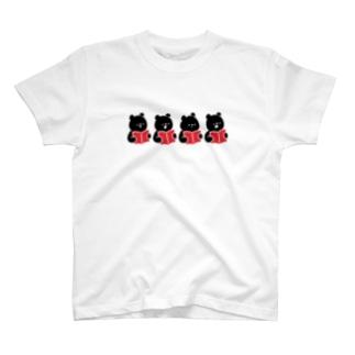 クロクマコ〜ラス T-shirts