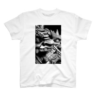 鬼瓦 Tシャツ T-shirts