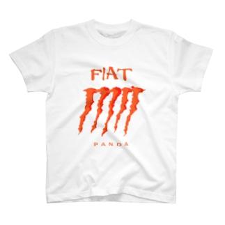 FIAT_PANDAグリル【Orange】 T-shirts
