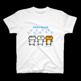 のびネコねこハウスSHOPののびネコねこハウス T-shirts