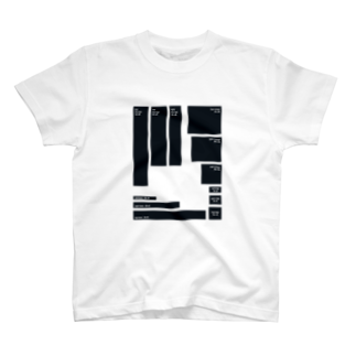 モンブランのBANNER SIZE T-shirts