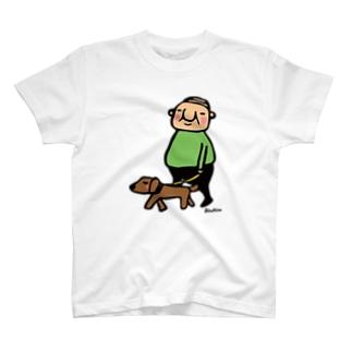岩井係長の散歩 T-shirts