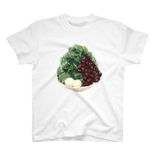 宇治抹茶金時かき氷 T-shirts
