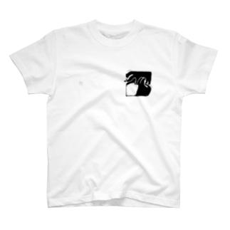 rena model T-shirts