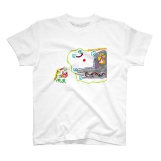 みんみんⅡとUUU T-shirts
