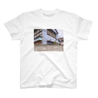道端のねこ T-shirts