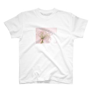 かすみ草 T-shirts