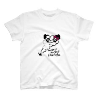 moku moku panda T-shirts