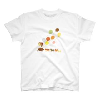 風船とばし T-shirts