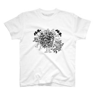 パーティパーティ T-shirts