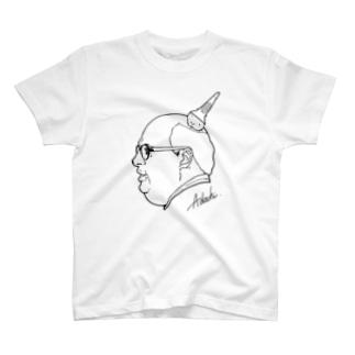 足立ラヴラヴラヴラヴラヴTシャツ T-shirts