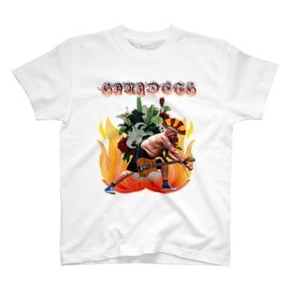 前田デザイン室ダサT16 B級バンドHANADETH  T-shirts