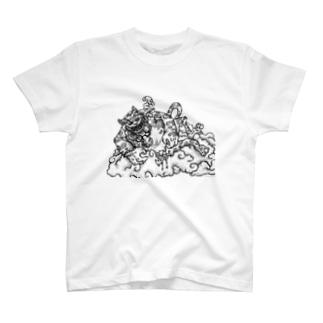 猫も杓子も T-shirts