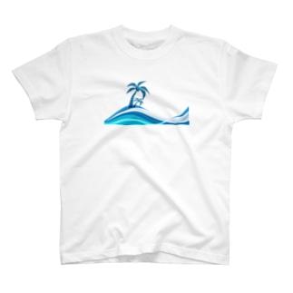 summer beach2 T-shirts