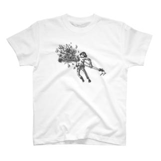 夢の在処に咲く花 T-shirts