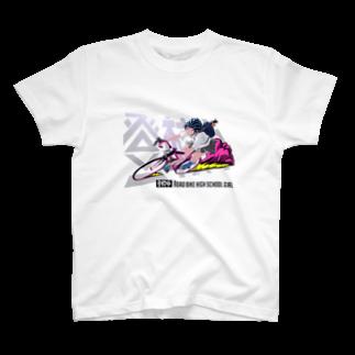 ギギギガガガの登校中 T-shirts
