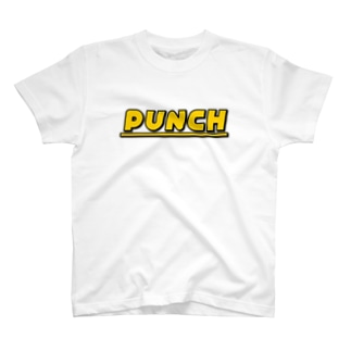 PUNCH イエロー T-shirts