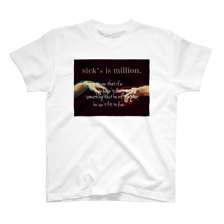 『Adm』proverb logo T-shirts