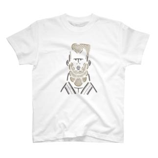 武道家の男1 T-shirts