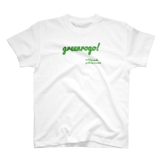 _ono38___の緑ロゴ 可愛いサコッシュ T-shirts