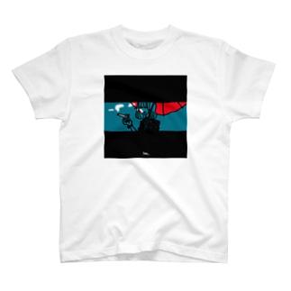 smoking girl T-shirts