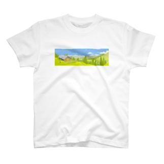 ハイキング T-shirts