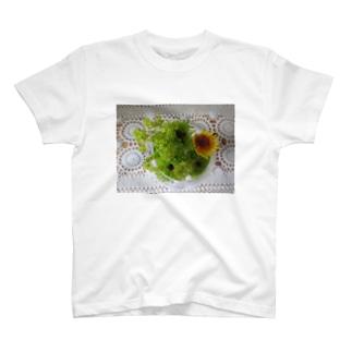 若葉色 T-shirts