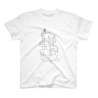パンケーキと男の子 T-shirts