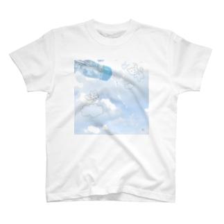 みずいろそらいろ T-shirts