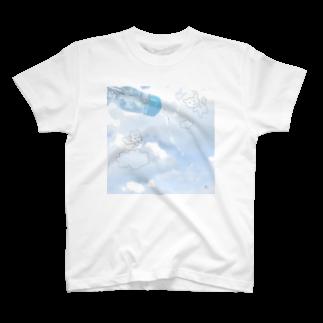 metoloshopのみずいろそらいろ T-shirts