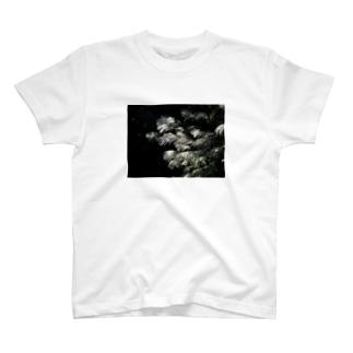 輝くススキ T-shirts
