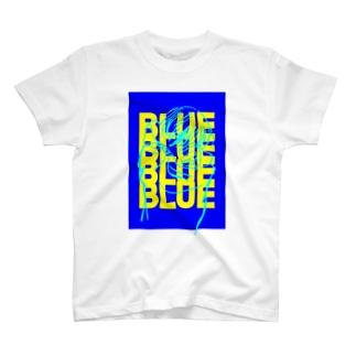 BLUE Tシャツ