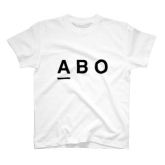 血液型A型の人の T-shirts