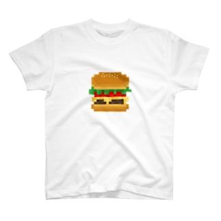 ハンバーガー【ドット】 T-shirts