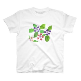 紫陽花(machi) T-shirts