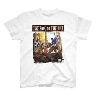 G-NET The fool on the hill Young men Tシャツ