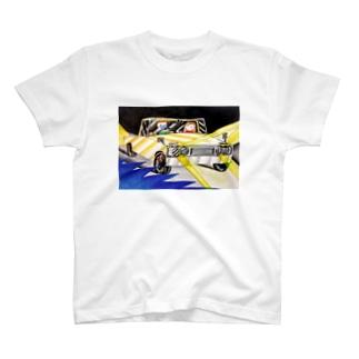私たちの夜のドライブ Tシャツ