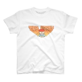 ティーパーティーの男 T-shirts