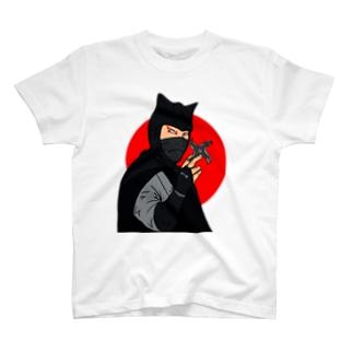 怪傑黒頭巾 T-shirts
