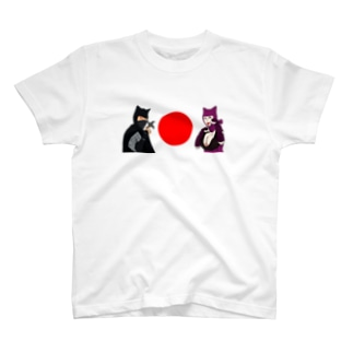 黒頭巾&紫頭巾 T-shirts