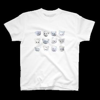 くまきちアイテムのBEARS T-shirts