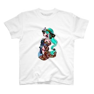 花魁 シリーズ(リクエスト) T-shirts