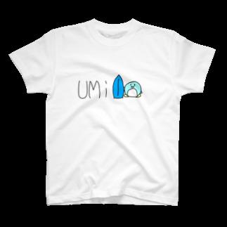 コタツのUMiペンギン T-shirts