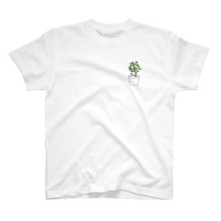 草生えた T-shirts