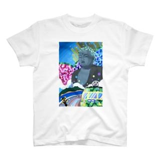 鎌倉大仏 T-shirts