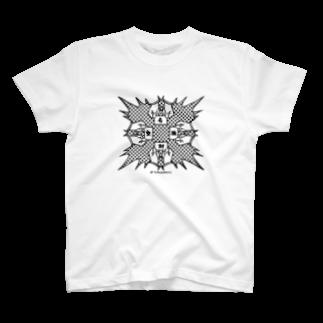 ツルカメ2の名刺交換Tシャツ(1) T-shirts