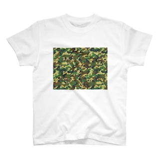 TANKPET CAMO2 T-shirts