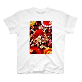 絡新婦ちゃん T-shirts